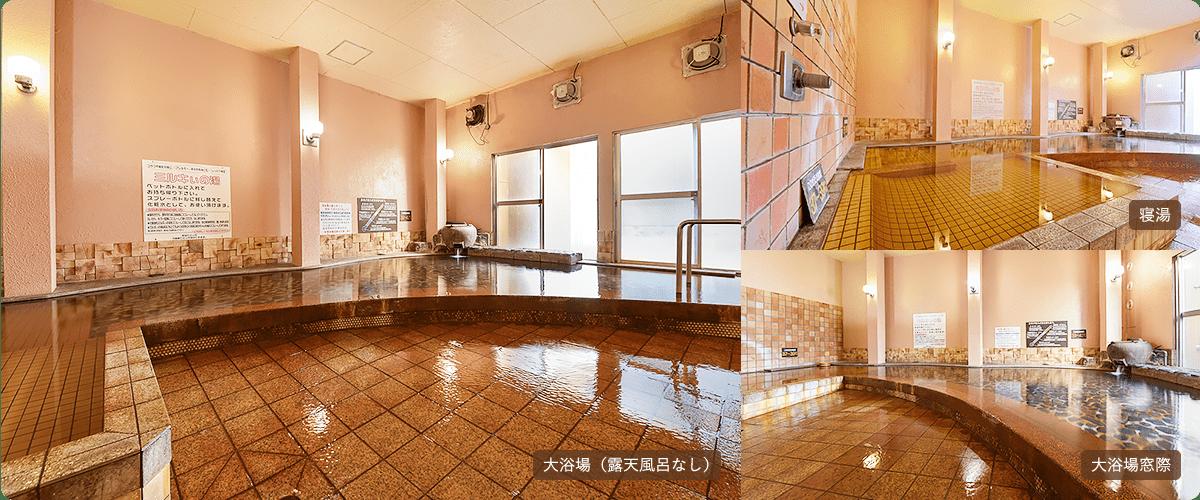 大浴場(露天風呂なし)